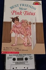 Book w/Cassette -Pink Tutus in Okinawa, Japan