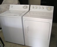 Washer and Dryer GE Set Large tub-Super Reliable And Guaranteed in Warner Robins, Georgia