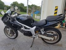 2001 Suzuki SV650 in Okinawa, Japan