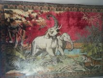 Vintage Asian wall rug in Charleston, West Virginia