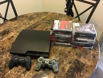 PS3 with two controlllers. 34 games, 13 digital in Fairfield, California