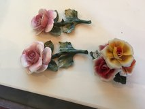 3 capodimonete  roses great shape. Or make offer in Houston, Texas
