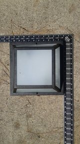 Outdoor Ceiling mount Light Fixture - Square in The Woodlands, Texas