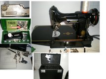 Singer Featherweight Sewing Machine - 1951 in Shorewood, Illinois