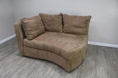 Tan Modern Corner Sofa in CyFair, Texas