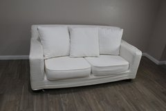 White Love seat in CyFair, Texas