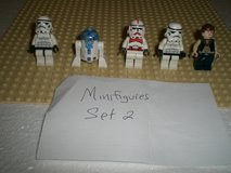 5 Lego Star Wars Minifigs Group 2 in Aurora, Illinois