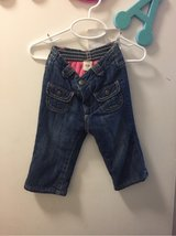 Old Navy fleece lined jeans Sz 6-12 mon in Travis AFB, California