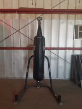 Heavy bag with stand in 29 Palms, California