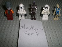 5 Lego Star Wars Minifigs Group 6 in Aurora, Illinois