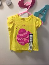 NEW WITH TAGS Yellow bug tee shirt Sz. 12 mon in Travis AFB, California