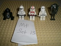 5 Lego Star Wars Minifigs Group 13 in Chicago, Illinois
