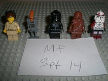 5 Lego Star Wars Minifigs Group 14 in Chicago, Illinois