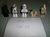 5 Lego Star Wars Minifigs Group 17 in Chicago, Illinois