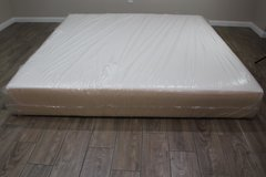 King Size Memory Foam Mattress (Sealy True Form) in CyFair, Texas