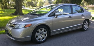 2006 Civic LX - 57,000 Miles - Reliable, Strong - Fuel Eco - $6800 in Beaumont, Texas