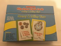 Money and Time Flashcards in 29 Palms, California