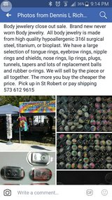 body jewelry close out in Fort Leonard Wood, Missouri