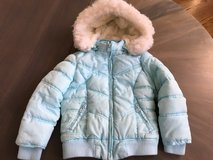Justice Light Blue Coat Size 5 in Chicago, Illinois