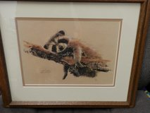 Three Jean Haefele Watercolor Prints Signed and Numbered in Chicago, Illinois