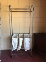 Hanging Clothes Rack With Hamper in DeRidder, Louisiana