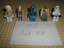 5 Lego Star Wars Minifigs Group 48 in Yorkville, Illinois