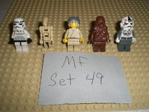 5 Lego Star Wars Minifigs Group 49 in Yorkville, Illinois