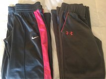 Nike and Under Armour-girl's athletic pants in Joliet, Illinois