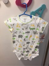 NWT - Carters full snap front onesie in Travis AFB, California