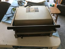 Commercial Panini press in Fort Campbell, Kentucky