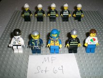 10 Lego City Minifigs Group 64 in Yorkville, Illinois