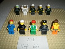 10 Lego City Minifigs Group 66 in Yorkville, Illinois