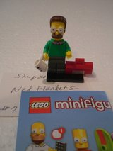 Lego Minifig Simpsons Series 1 Ned Flanders in Sandwich, Illinois