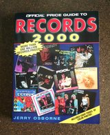 Official Price Guide to Records : 2000 Edition by Jerry Osborne (Paperback) in Lawton, Oklahoma