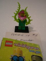 Lego Minifig Series 14 Plant Monster in Naperville, Illinois