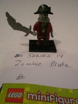 Lego Minifig Series 14 Zombie Pirate in Naperville, Illinois
