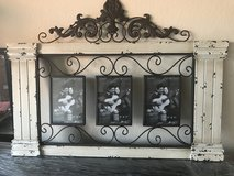 Wood/Iron Collage Frame w/3 5x7 Frames in Pearland, Texas