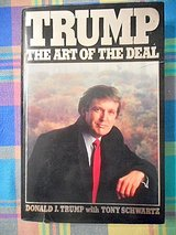 Trump The Art Of The Deal the first book published by Trump Best Seller in Lake Elsinore, California