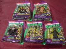 5 TMNT Action Figures NEW in Package in Aurora, Illinois