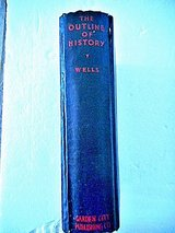 The Outline Of History H.G. Wells 1930 in Lake Elsinore, California