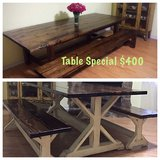 Custom Farm Table in The Woodlands, Texas