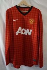 Manchester United 2012/2013 Socer Jersey, Long Sleeve in Ramstein, Germany