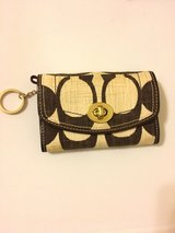 Coach wallet w/ key ring & room for more in Okinawa, Japan
