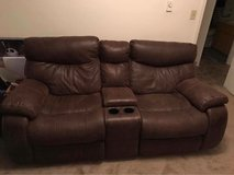 Leather Loveseat Recliner in Tacoma, Washington