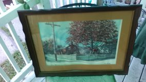 Amana Home and Museum Art Print $10.00 Cash in Quad Cities, Iowa