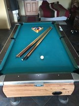 Pool table in Fort Leonard Wood, Missouri
