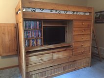 Solid Wood Twin Bunk Bed in St. Louis, Missouri
