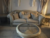 Couch, love seat, recliner, coffee table and two end tables in Fort Bliss, Texas