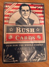 BUSH Playing Cards - New in Stuttgart, GE