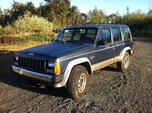 '88 Jeep Cherokee in Fort Lewis, Washington
